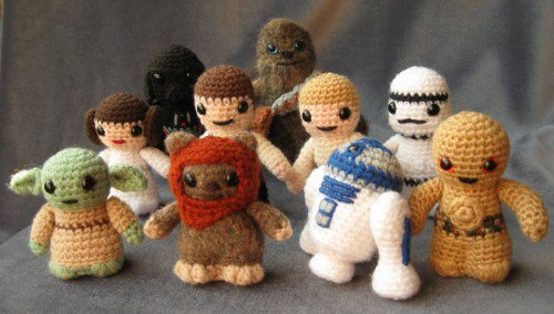 Knit Star Wars Characters