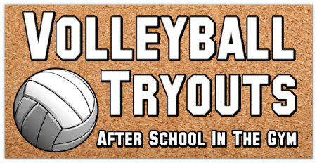 If At First You Don't Succeed, Tryout Again Volleyball Tryouts