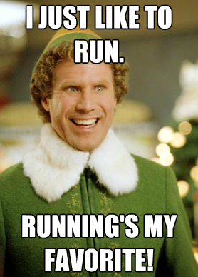 #WillToWay: Willpower and Running: A Love Story Buddy the Elf