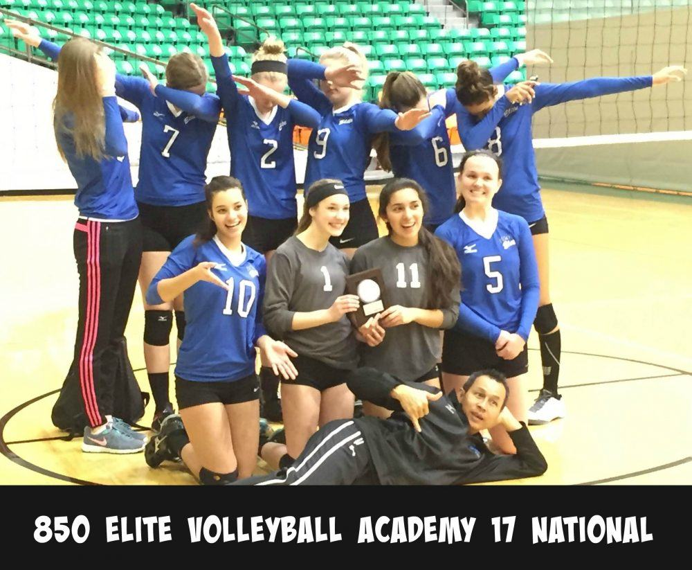 Cancer is a Team Sport 850 Elite Volleyball Academy
