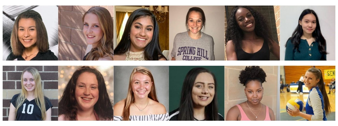 2019 Side-Out Foundation Ambassadors Collage
