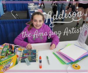 Addison the Amazing Artist