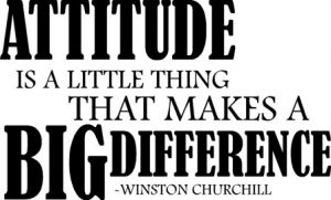 Staying Positive Attitude