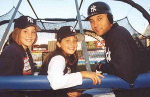 Derek Jeter & Saracini Sisters
