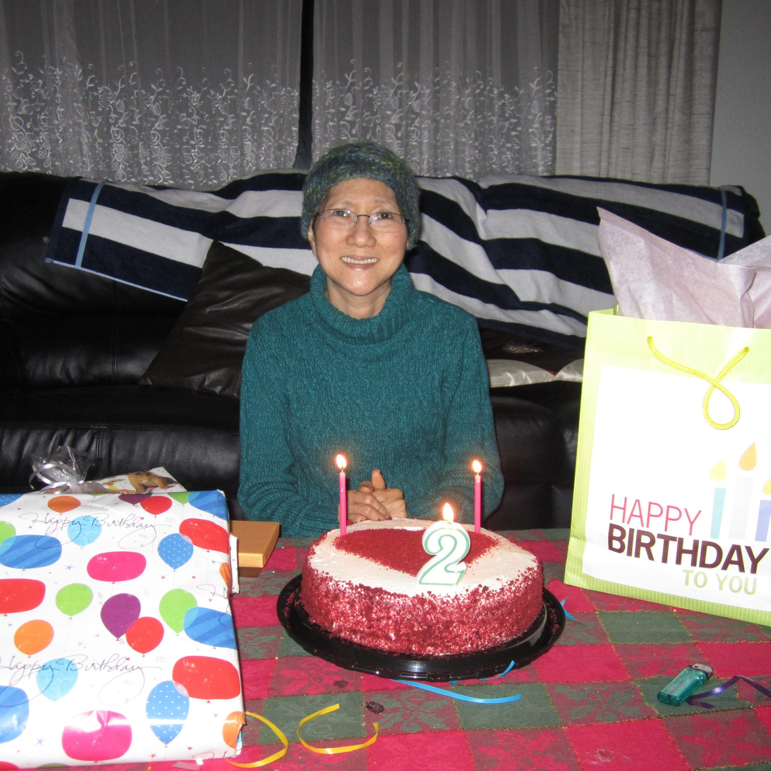 Esther's Mom on her birthday