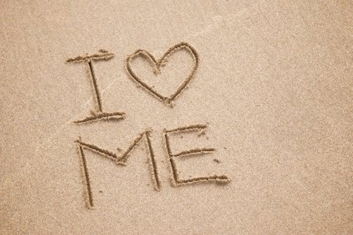I Love Me Beach Sand