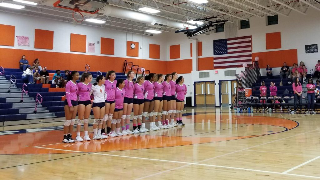 Dig Pink at West Springfield