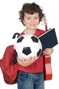 Burnout in Youth Sports Girl With Soccer Ball