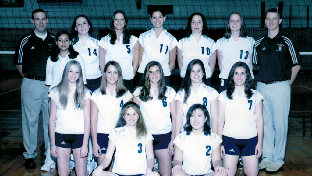 The 2004 West Springfield Volleyball Team