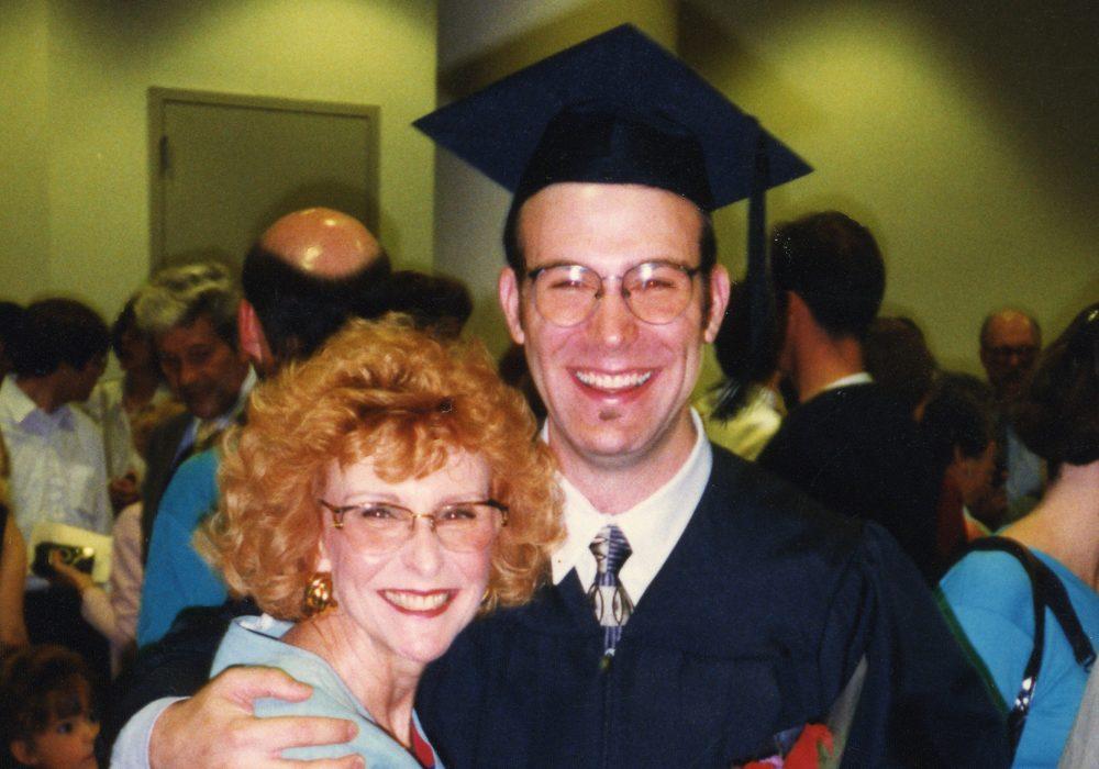 Rick and Gloria at his Graduation